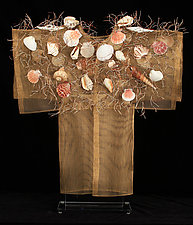 Shore Kimono by Susan McGehee (Metal Sculpture)