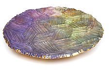 Iley's Wish by Mira Woodworth (Art Glass Platter)