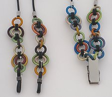 Lanyard & ID Holder by Sylvi Harwin (Aluminum Jewelry)