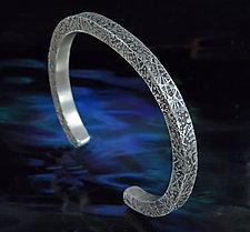Cosmic Web Bracelet by Allan Mason (Silver Bracelet)
