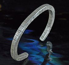 Geometry Bracelet by Allan Mason (Silver Bracelet)