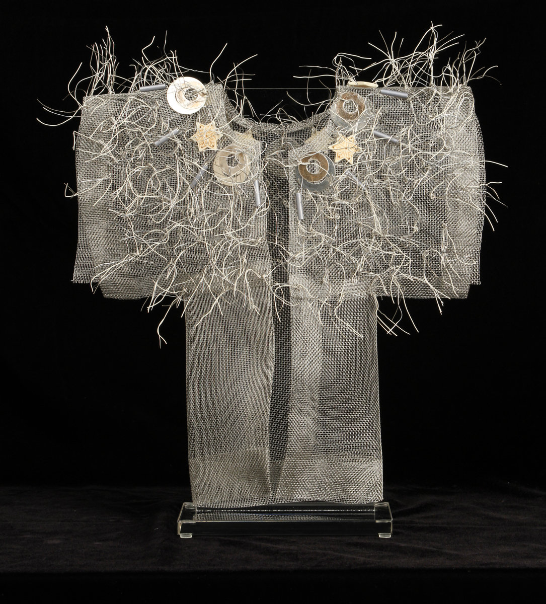 Winter Kimono by Susan McGehee (Metal Sculpture)