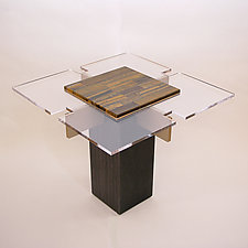 Tiger Eye Table by John Nalevanko (Wood & Stone Table)