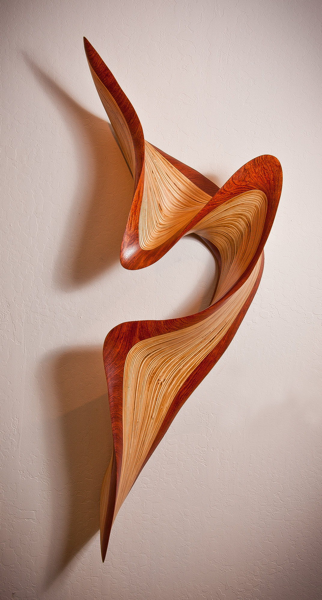 Jive by kerry vesper wood wall sculpture artful home - Sculpture wall decor ...