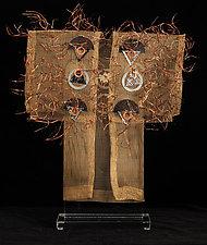 Delphi Kimono by Susan McGehee (Metal Sculpture)