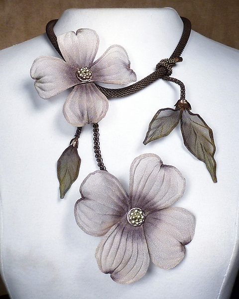 Dogwood Blooms Necklace