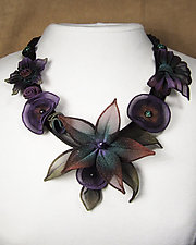 Starflower Necklace by Sarah Cavender (Metal Necklace)