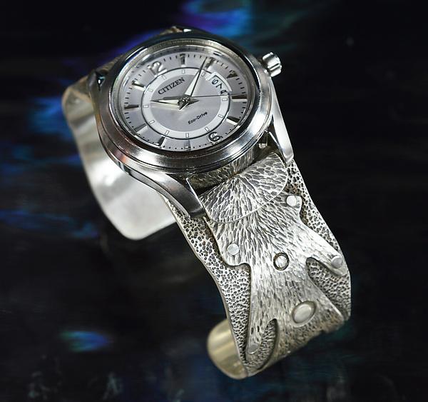 Silver Fingers Watch