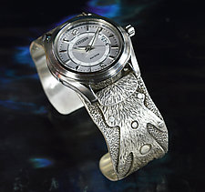 Silver Fingers Watch by Allan Mason (Silver Watch)
