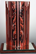 Sedona by Colleen Gyori (Art Glass Sculpture)