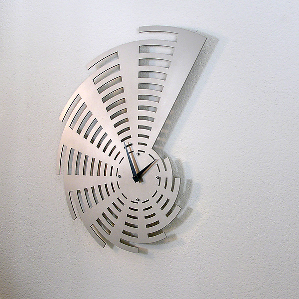 Time Expanding Wall Clock