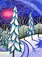Winter Light by Wynn Yarrow (Giclée Print)