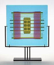 Textile Study #3 by Lynn Latimer (Art Glass Sculpture)