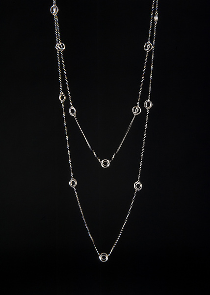 Clasp Station Necklace