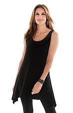 Matte Jersey Tunic Tank by Planet   (Knit Top)