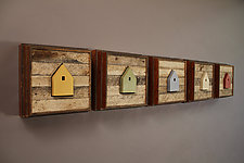 Diversity by Chris Bowman (Wood Wall Sculpture)