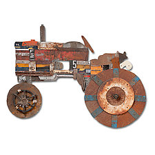 The Farmer Collection by Dolan Geiman (Mixed-Media Wall Sculpture)