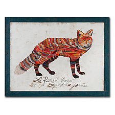 The Red Fox Collection by Dolan Geiman (Mixed-Media Wall Art)