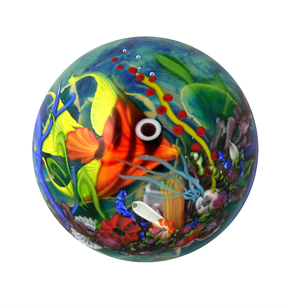 Coral Reef Paperweight