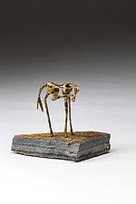 Pedicure by Sandy Graves (Bronze Sculpture)