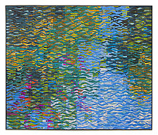 Garden Shimmer by Tim Harding (Fiber Wall Art)