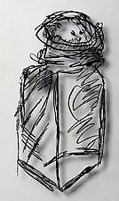 Salt Shaker by Paul Arsenault (Metal Wall Sculpture)