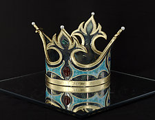 Imperial Crown by Marcia Jestaedt (Ceramic Sculpture)