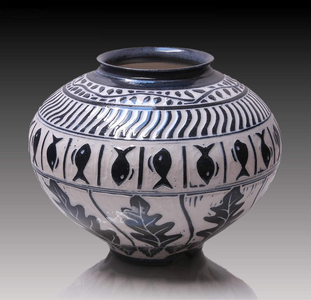 Http Www Artfulhome Com Product Ceramic Vessel Sgrafitto 5 78679