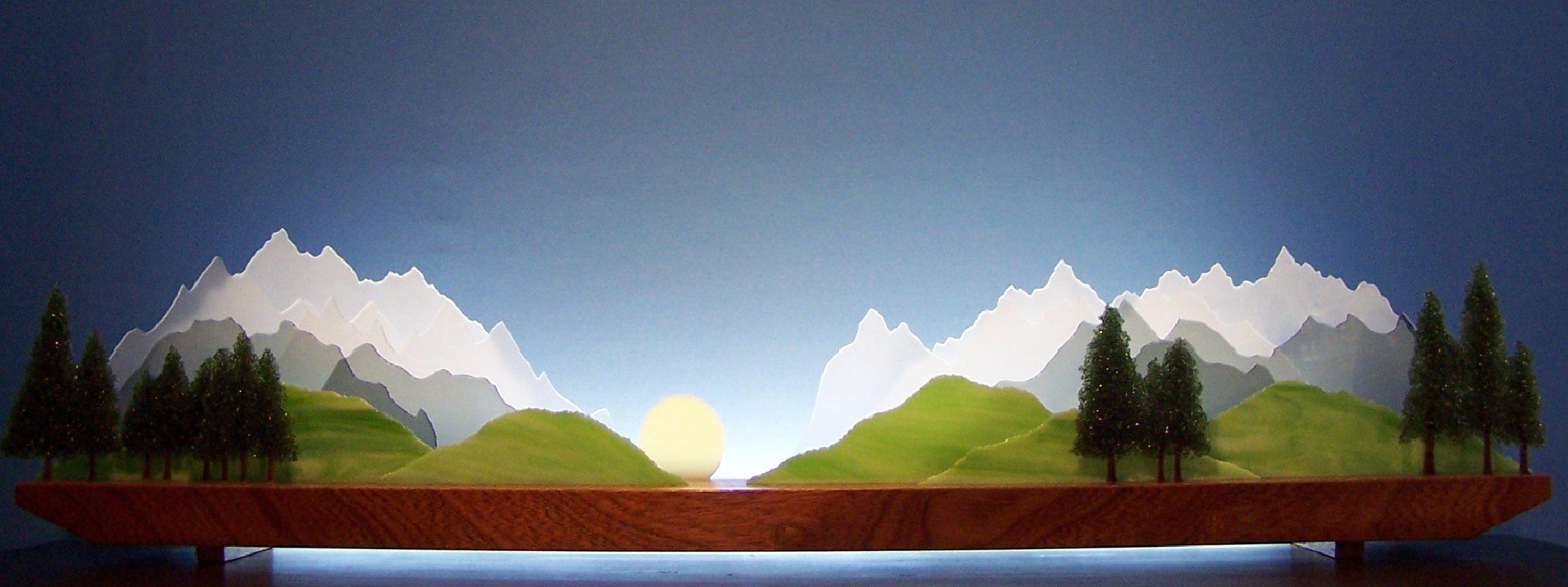 Sierra By Bernie Huebner And Lucie Boucher Art Glass