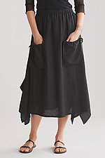 Free Spirit Skirt by Heydari  (Linen Skirt)