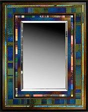 Jazz II by Thomas Meyers (Art Glass Mirror)
