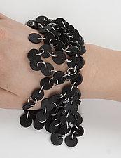 Betsy Bracelet by Kathleen Nowak Tucci (Steel & Rubber Bracelet)