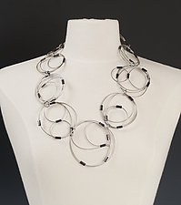 Leda Necklace by Kathleen Nowak Tucci (Steel Necklace)