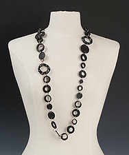 Madison Necklace by Kathleen Nowak Tucci (Steel & Rubber Necklace)