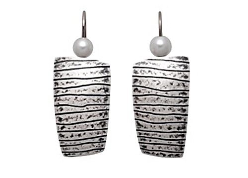 Black Lines Earrings