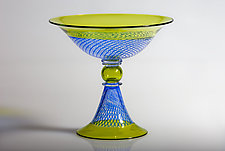 Reticello Incalmo Bowl by Robert Dane (Art Glass Bowl)