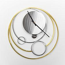 Galaxy Clock by Ken Girardini and Julie Girardini (Metal Clock)