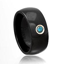 Ceramique Jennifer Diamond Ring by Etienne Perret (Ceramic & Stone Ring)