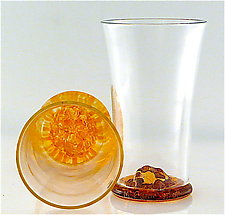 Single Malt Scotch Glass by Michael Egan (Art Glass Tumbler)