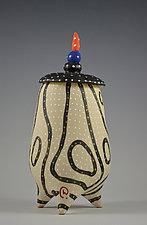 Blackline Tripod by Vaughan Nelson (Ceramic Vessel)