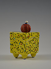 Mellow Yellow Box by Vaughan Nelson (Ceramic Box)