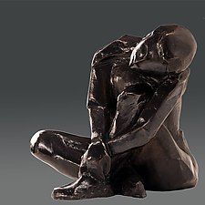 Dreamer #6 by Dina Angel-Wing (Bronze Sculpture)