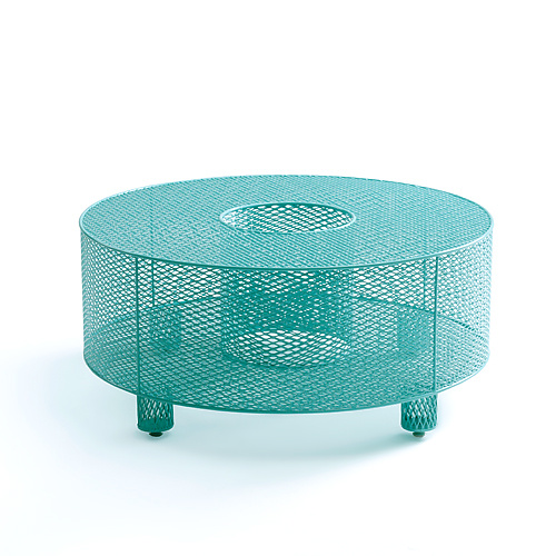 O Table in Teal