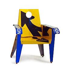 Merge Ahead Broadway Armchair by Boris Bally (Metal Chair)