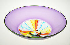 Cane Incalmo Bowl No. 13 by Nicholas Kekic (Art Glass Bowl)