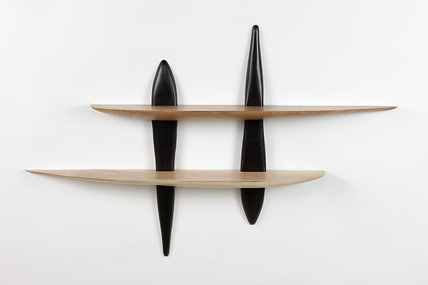 large tulsi shelf by brian fireman wood shelf artful home. Black Bedroom Furniture Sets. Home Design Ideas