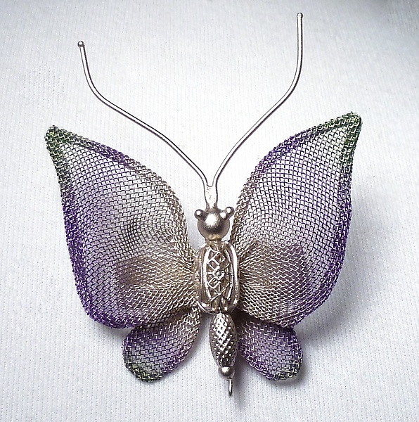Small Coarse Mesh Butterfly