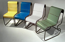 Gumdrop Chair by Doug Meyer (Metal Chair)