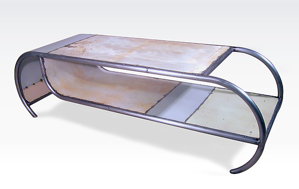 capsule coffee tabledoug meyer (metal coffee table) | artful home