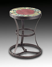New Capri Accent Table by Janna Ugone and Justin Thomas (Metal Side Table)
